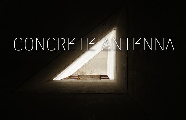concrete antenna