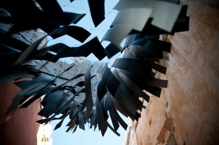 """Jana Matejkova, """"Metamorphosis"""", Projecto Travessa da Ermida, Lisbon, 2011."""