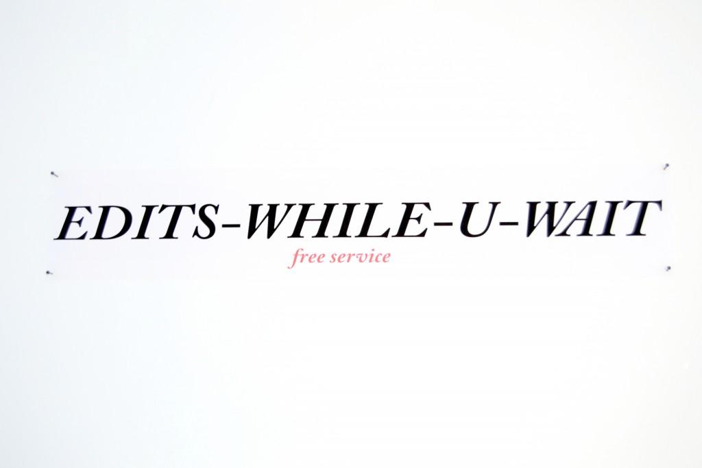 edits while u wait