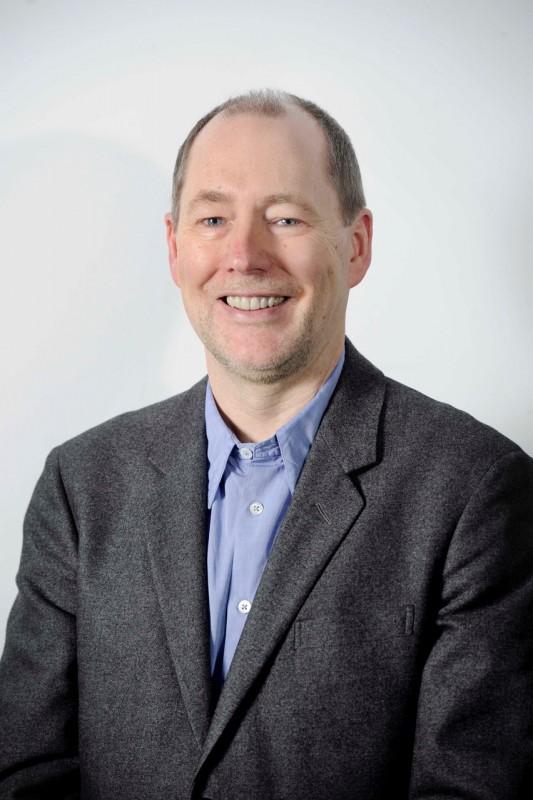 Portrait of Graeme Dickson